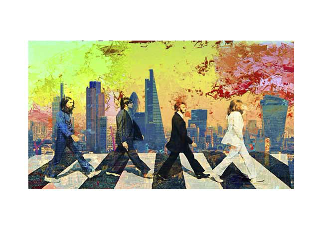 The Beatles at  The City of London