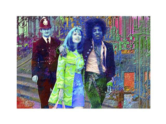 Jimi Hendrix al London